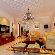 客厅吊顶设计图