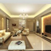 精致客厅整体设计