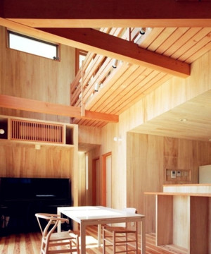 远离都市喧嚣的休闲木屋别墅装修效果图