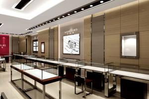 2015都市豪华大户型公装玻璃展示柜装修效果图
