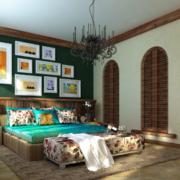 精致的卧室整体设计
