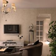 现代客厅吊灯图