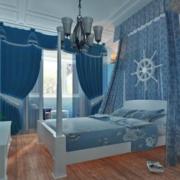 唯美卧室飘窗图