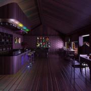 现代酒吧地板设计