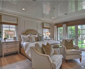 单身公寓富有创造性的田园风格卧室装修效果图