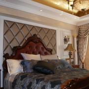 精美卧室背景墙造型图