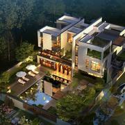 现代别墅设计模板
