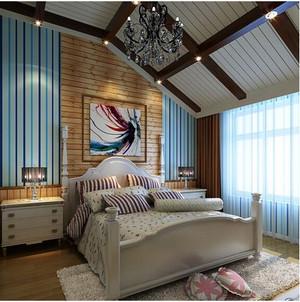 东南亚卧室飘窗装修效果图