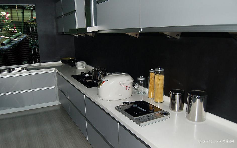 质感十足的现代厨房橱柜装修效果图鉴赏