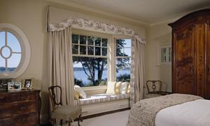 深受国人喜爱的美式飘窗窗帘设计效果图鉴赏