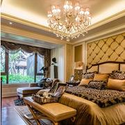 卧室窗帘造型图