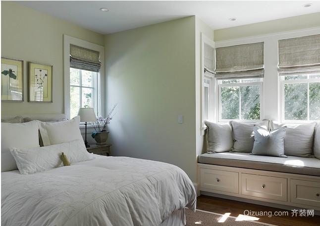 欧式卧室飘窗装修效果图