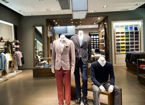 唯美的服装店设计