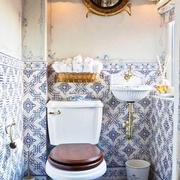 洗手间瓷砖背景墙