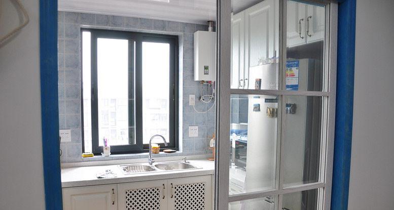 中海 风格别墅厨房 移门 装修效果图 齐装网装