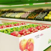 店面精致水果摆放图