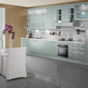 现代厨房背景墙图