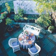 入户花园外景图