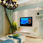 地中海风格客厅装修色调搭配