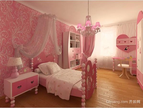 别墅趣味儿童房间装修图片
