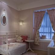 儿童房飘窗装修色调搭配