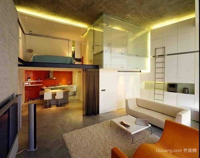 潮流达人设计的创意阁楼装修效果图