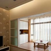 精致的客厅窗帘设计