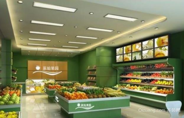 50平米小型水果店装修效果图