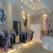 服装店整体设计图