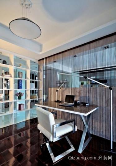极致简约的现代小书房设计效果图鉴赏