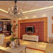 大型客厅内部图