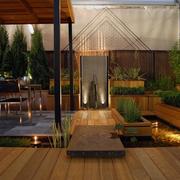 露台花园设计模板