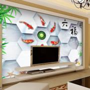 客厅3d电视背景墙装修整体图