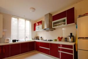 别墅厨房移门装修效果图