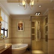 欧式风格卫生间装修背景墙图