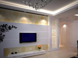 2015客厅电视墙背景装修效果图大全