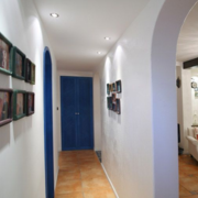 室内照片墙设计走廊图