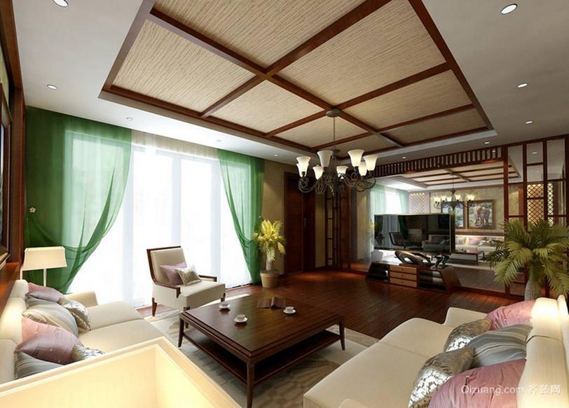 风味独特的混搭风格客厅沙发装修效果图鉴赏