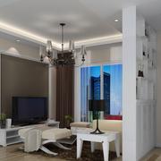 现代客厅背景墙设计
