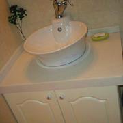 卫生间台盆柜装修造型图