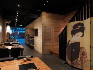 日式餐厅设计图