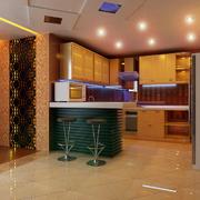 现代厨房设计模板