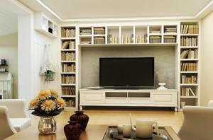 北欧风格电视背景墙装修效果图