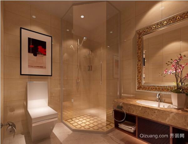 风格独特小户型卫生间装修效果图