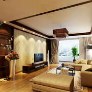 客厅现代飘窗设计