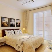 卧室窗帘装修造型图