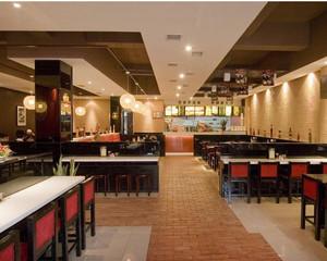2015干净整洁的小户型中式快餐店装修效果图