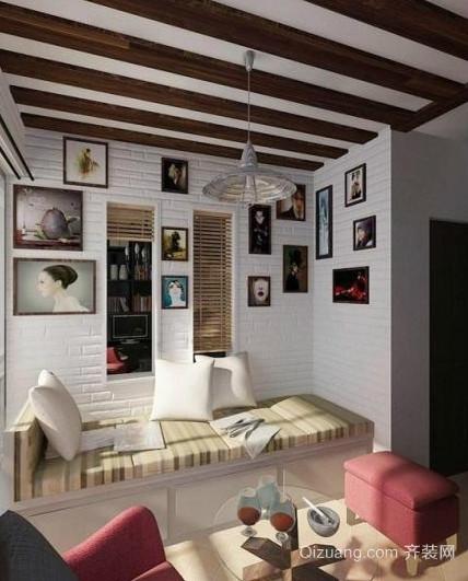 小女生房间室内照片墙装修设计效果图