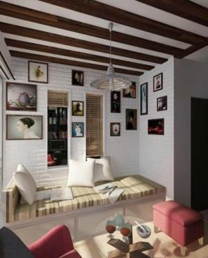 室内照片墙设计效果图