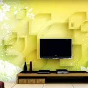 客厅3d电视背景墙装修造型图